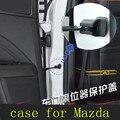 MX-5 2014 acessórios do carro porta Do Carro limitando rolha de cobre caso para Mazda 3 mazda 6 mazda cx-5 CX 5 mazda 2 carro styling