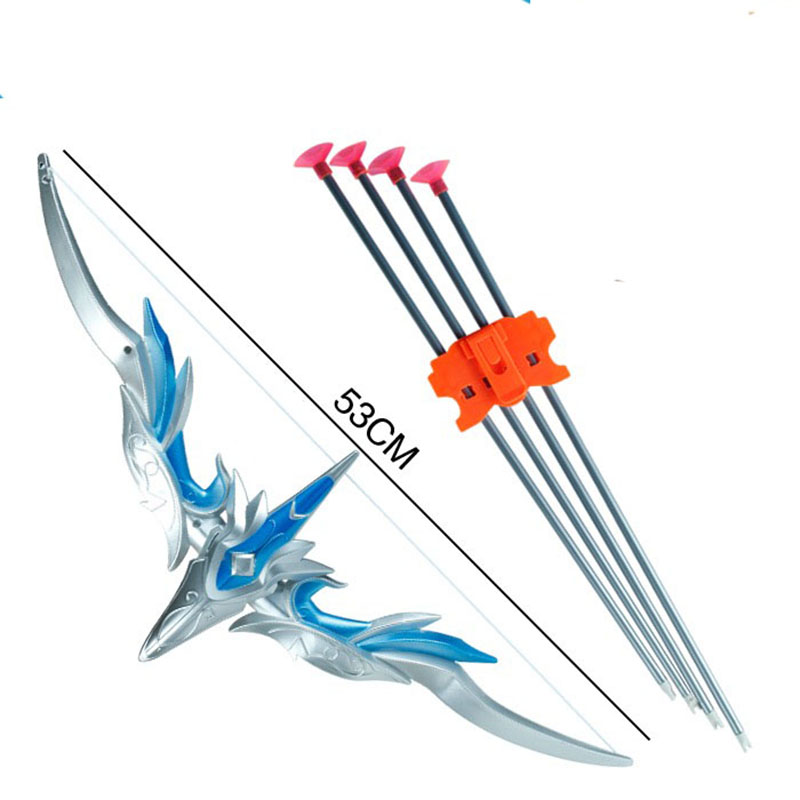 Bows And Arrows Can Be Fired Weapons Childrens Toy Large Boys Slingshots Safety Folding Sword Weapon Category Plastic