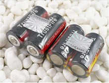 10pcs/lot Trustfire 16340 CR123A 3.7V Rechargeable Battery Lithium Batteries 880mAh For LED Flashlights Headlamps
