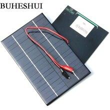 BUHESHUI В 4,2 Вт 18 в солнечная батарея поликристаллическая DIY солнечная панель + зажим для В зарядки 12 В батарея система исследование мм 130*200 мм Бесплатная доставка