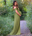 2017 adereços fotografia de maternidade fantasia vestidos de maternidade roupas grávidas estiramento do algodão maxi dress fotografia maternidade dress