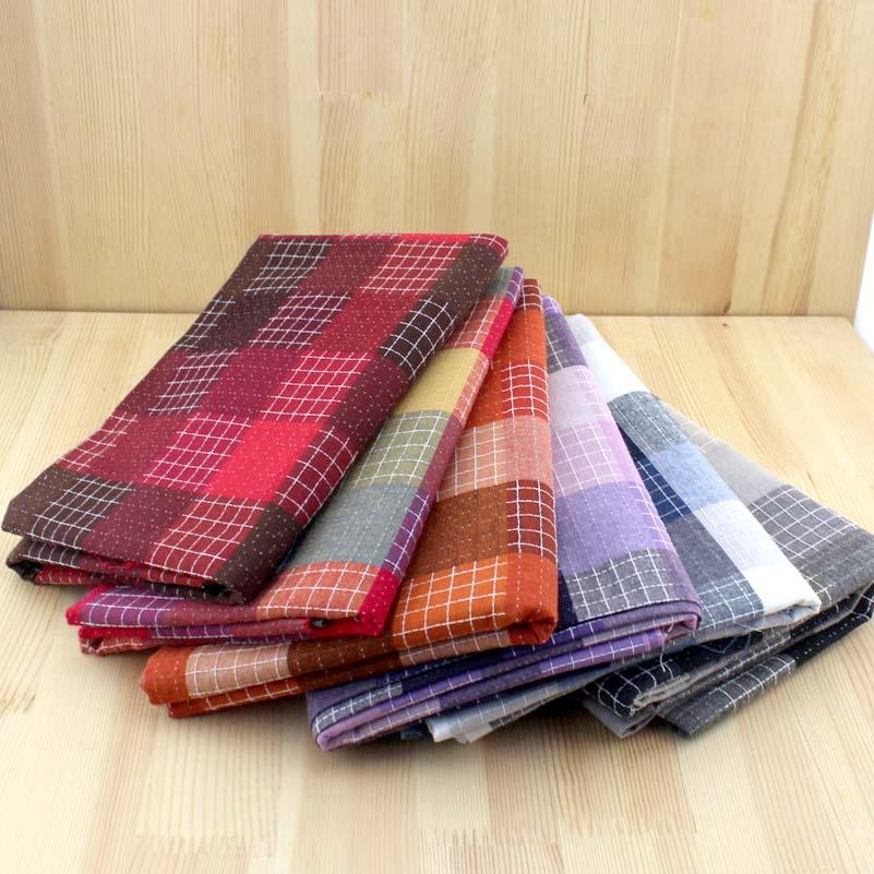 de base patchwork tissu ripstop fil teinture tissu 100 coton tissu pour coudre couette motif tissus tissu tilda bricolage artic - Colorant Tissu