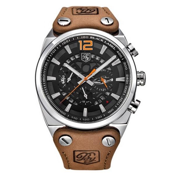 BENYAR Sport Men Watches Quartz Man Outdoor Big Dial Watch Male Clock Male silver yellow