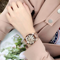 Часы женские  модные  кварцевые  со стразами