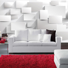 Custom Wall Mural Modern 3D Stereoscopic Large Mural Wallpaper Box Cube Wall Paper Living Room Sofa Bedroom Wallpaper Murals 3D