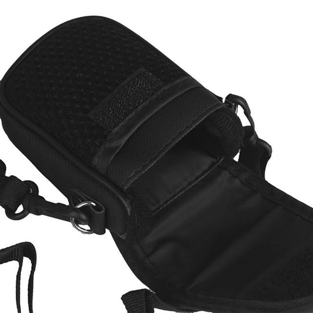 3 Size Camera Bag Case Compact Camera Case Universal Soft Bag Pouch + Strap Black For Digital Cameras 6