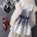 Don nupcial 2016 de la venta caliente barato turquesa vestidos de coctel scoop neck cremallera volver patern de largo prom party dress en stock