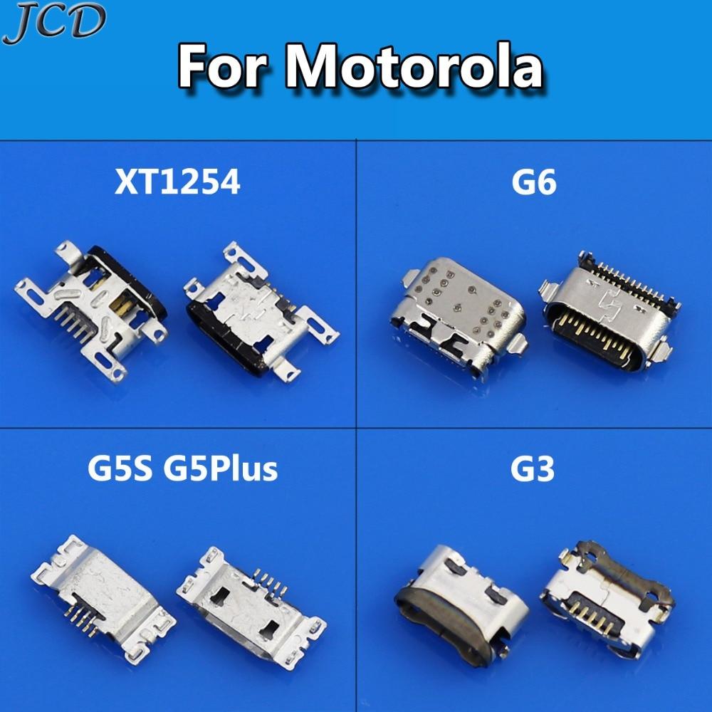 JCD Micro Usb Charging Port Dock Connector For Motorola Moto XT1254 G4 G4 XT1625 G6 G5S G5Plus Mini Usb Jack Socket Charging