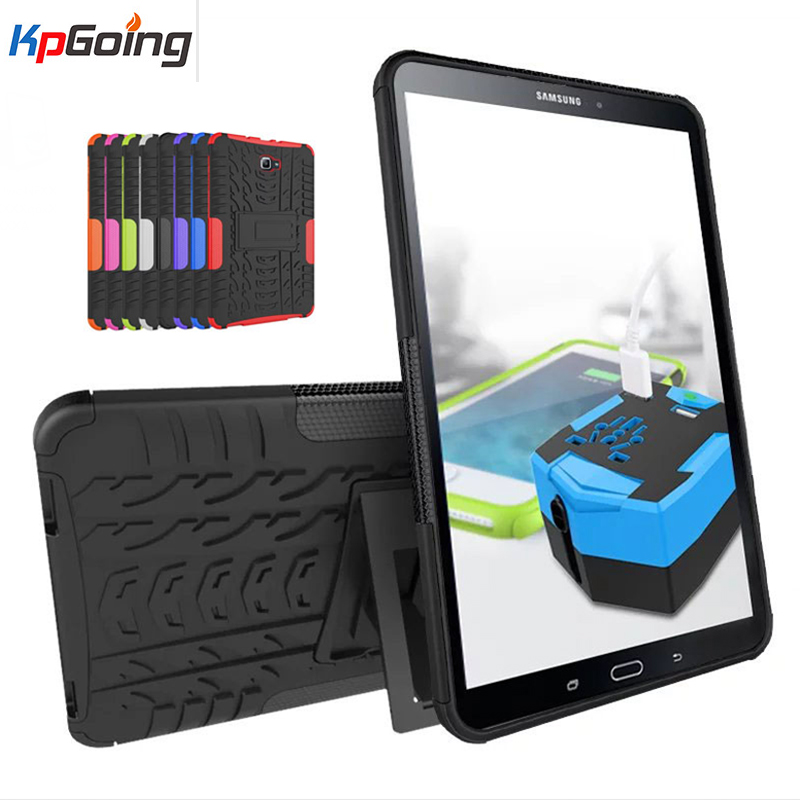 TPU&PC Heavy Duty Armor Shockproof Stand Cover for Samsung Galaxy Tab E 9.6 Tablet Case for Samsung Galaxy Tab E 9.6 T560 T561 shockproof hybrid heavy duty stand tablet case hard back cover rugged rubber armor pc tpu for ipad 9 7 inch 2017 a1822 a1823