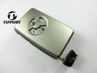 Vervanging Case Met Emergency Key Blade Voor Toyota Corolla Reiz RVA4 Smart Card Shell 3 Knoppen