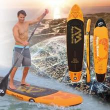 330*75*15 cm aufblasbare stand up paddle board aqua marina wasser sport fusion sup brett surfbrett surfbrett tasche leine paddle fin