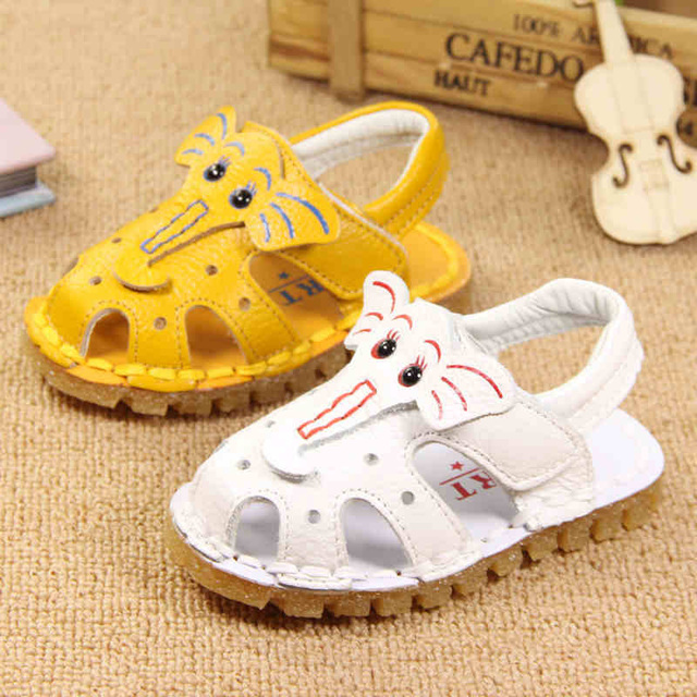 Baby Summer Shoes Leather Toddler Boy Shoes Infant Girl Bota Infantil Baby Booties Bootees Rubber Soft Sole 603173