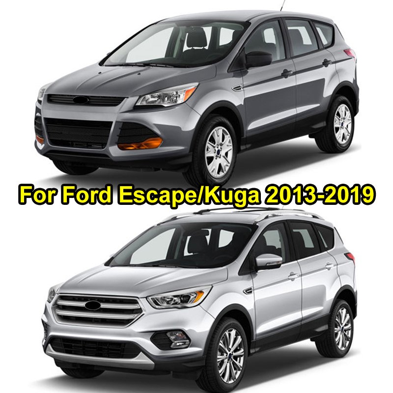 Image 5 - For Ford Escape Kuga 2013 2014 2015 2016 2017 2018 2019 Door Lock Cover Arm Checker Stopper Buckle Case Guard Car Accessories-in Chromium Styling from Automobiles & Motorcycles