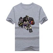New2017 Rampaging Raven! Cool Shirt Baltimore supemen men 100% cotton T-shirt K1015