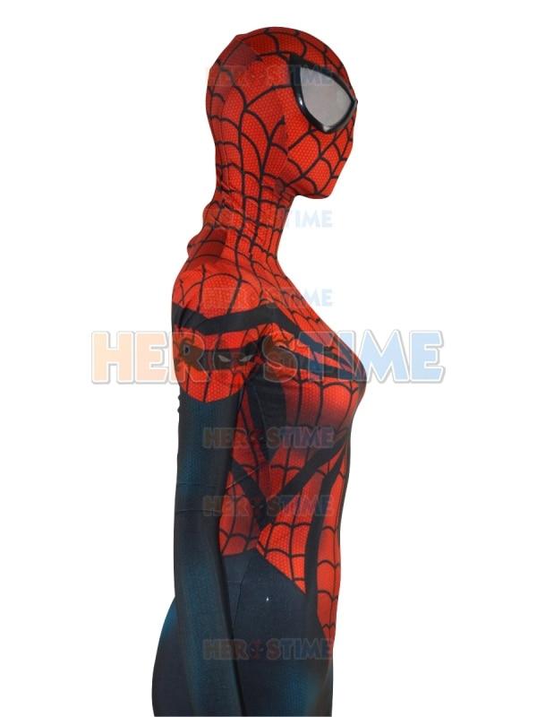Spider-Girl զգեստները Parker Morph կոստյում Տպել - Կարնավալային հագուստները - Լուսանկար 5