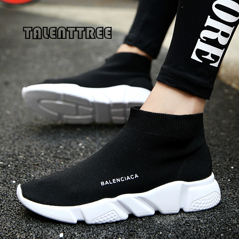 Plus size 35-45 popular young women boots fashion breathable