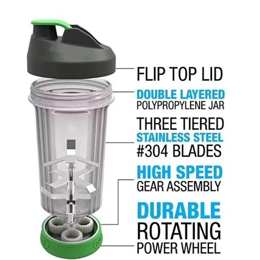 Portable Juicers Juice Cup Shaker Bottle Roller Manual Mixing Rolling Juicer No Electricity Blender Kitchen Gadgets Appliances