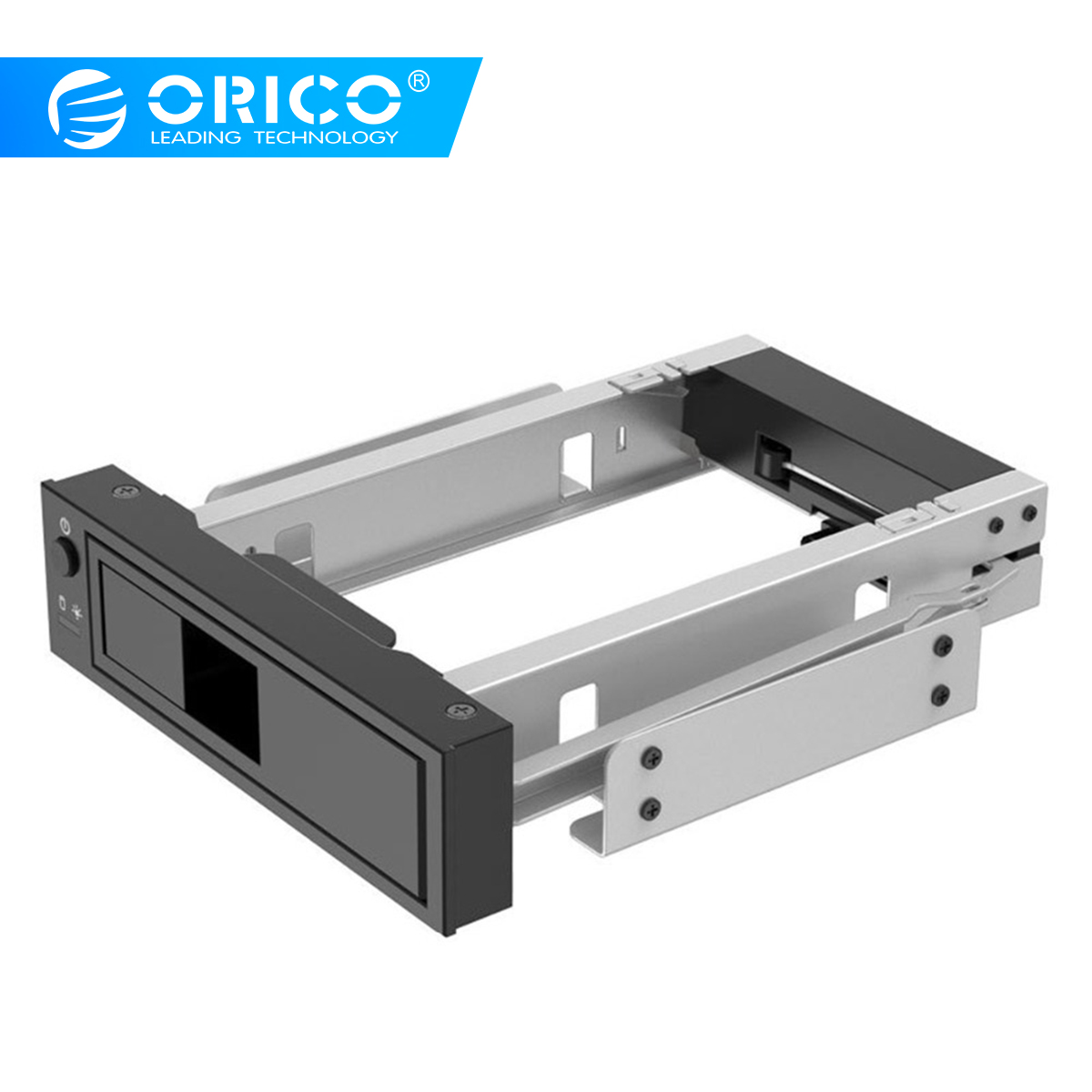 3.5 inch SATA HDD Frame Mobile Rack Internal HDD Case CD-ROM Space Tool Free Design Support MAX 6TB (1106SS)3.5 inch SATA HDD Frame Mobile Rack Internal HDD Case CD-ROM Space Tool Free Design Support MAX 6TB (1106SS)