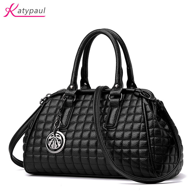 2017 Fashion Luxury Handbags Women Bags Designer Famous Brand Women's PU Leather Handbag High Capacity Female Bag Messenger Bag chispaulo women genuine leather handbags cowhide patent famous brands designer handbags high quality tote bag bolsa tassel c165