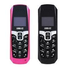 Long-cz T3 Smallest Thinnest Mini Mobile Cell Phone Bluetoot