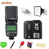 Godox Вспышка вспышки TT685 C/N/S/F/O 2,4G HSS ttl Беспроводной + X2T C/N/S/F/O вспышка триггера для цифровой зеркальной камеры Canon Nikon sony Fujifilm Olympus Камера