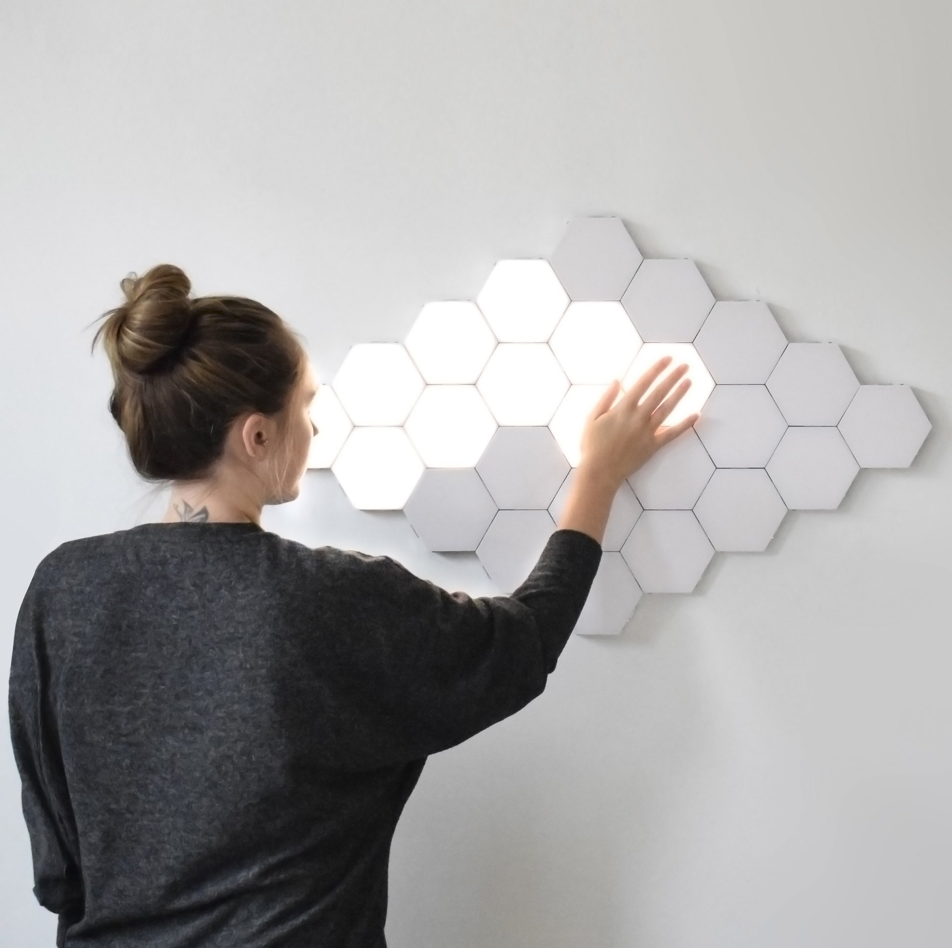 Touch-Sensitive Modular Light