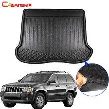 Cawanerl para jeep grand cherokee cauda do carro tronco esteira forro boot piso bandeja kick tapete de carga lama almofada 2008 2009 2010 2011 2012