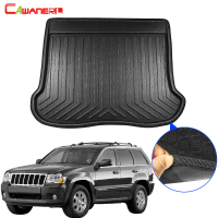 Cawanerl For Jeep Grand Cherokee Car Tail Trunk Mat Liner Boot Floor Tray Kick Carpet Cargo Mud Pad 2008 2009 2010 2011 2012