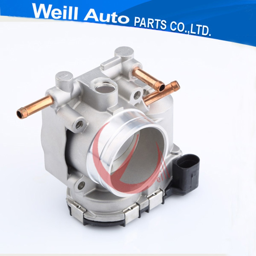 NEW 52mm Bore Auto Parts case for VW Santana 3000 Electronic Throttle Body Valve 06B133062S 0280750189 new electronic throttle body case for chery a5 f01r00y014