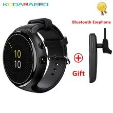 3G I4 Inteligente de Pulso de Ar Inteligente Telefone Do Relógio 2 GB 16 GB Câmera de 5MP De Busca por Voz Pedômetro Freqüência Cardíaca Monitor + Free fone de Ouvido Bluetooth