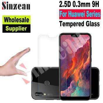 Sinzean 50pcs For Huawei Y5/Y6/Y7/P10 Plus/Enjoy 9 Plus/P8/P9 lite 2017 2.5D tempered glass screen protector film (Wholesale)