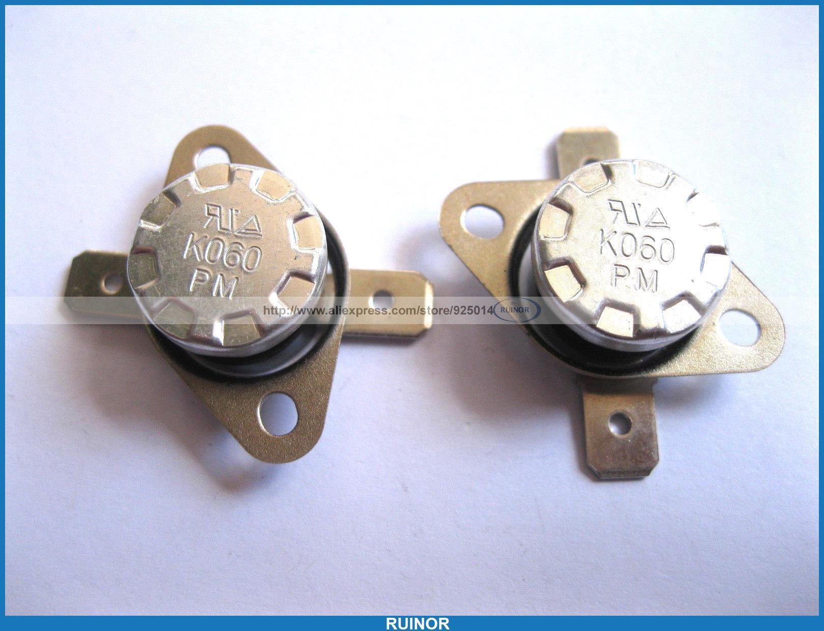 ФОТО 50 Pcs Temperature Switch Thermostat 60Degree N O KSD301