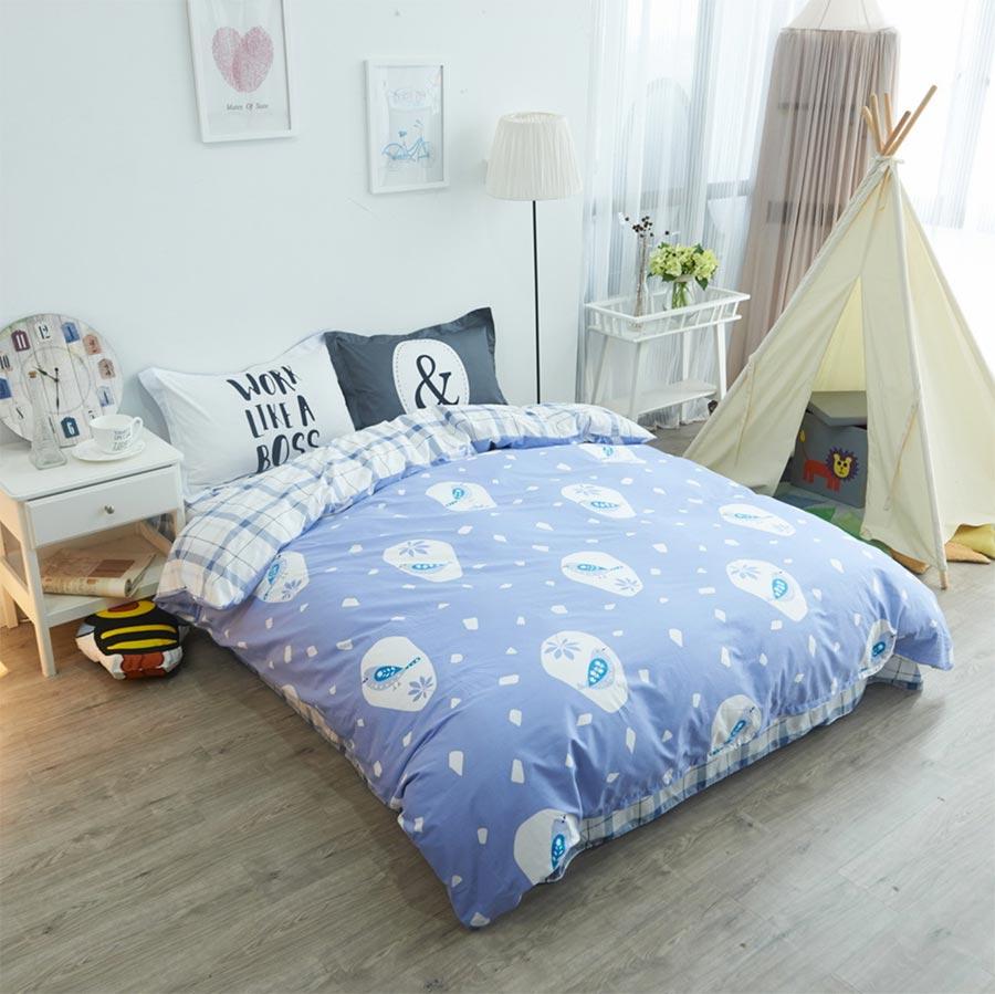 Character bird bedding set adult teen child kid,cotton full queen cartoon double home textile bed sheet pillowcase duvet cover