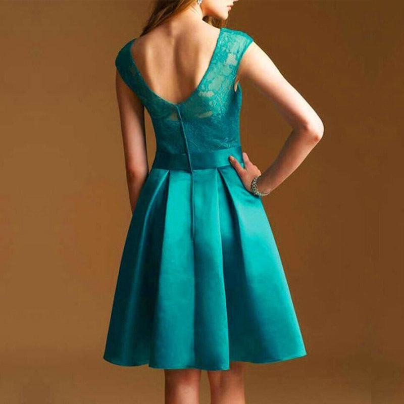 856e46ca644b8 Bridesmaid Dress High quality Short Purple Turquoise Coral Customized Royal Blue  Mint Green summer gowns Cheap Dresses-in Bridesmaid Dresses from Weddings  ...