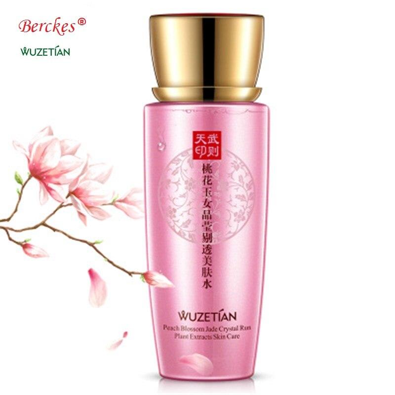 Wu zetian peach blossom jade crystal clear skin water moisturizing and moisturizing toner skin whitening and moisturizing toner lady wu the only female emperor of china wu zetian english edtion