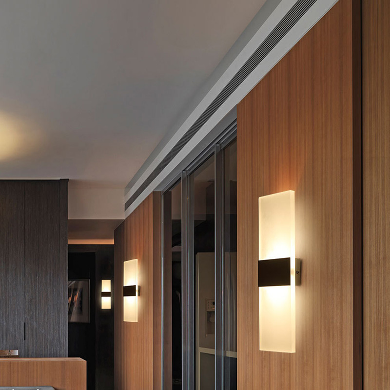 Neue Speicher Promotion LED Wandleuchte Wohnzimmer Wohnzimmer Foyer  Schlafzimmer Badezimmer Moderne Wandleuchte Licht Quadrat FÜHRTE Wandlampe  In Neue ...