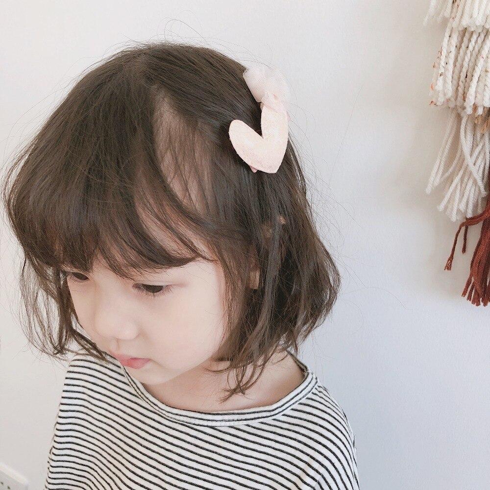 Baby Mädchen Pailletten Mesh Herz Haar Clips Barrettes Nette Haar Pins Kinder Prinzessin Headpins Headwear Kinder Haar Zubehör Attraktive Designs;