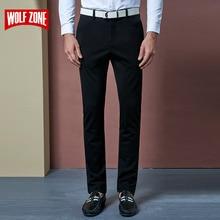 2017 New Arrival Autumn Suit Pants Man Dress Men Office Pantalon Slim Fit Wedding Homme Mens Formal Trousers Flat Casual Skinny