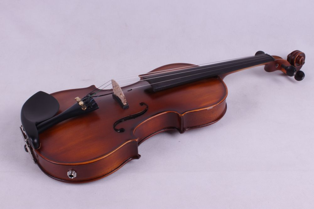 dark  old violin  color  4   string 4/4 Violin Electric Violin Acoustic Violin Maple wood Spruce wood Big jack    color купить