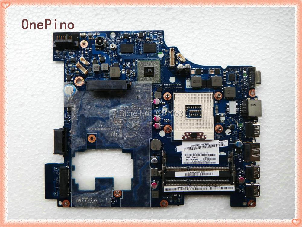 PIWG1 LA-6751P for Lenovo G470 Notebook non-integrated for LENOVO G470 laptop motherboard LA-6751P HM65 DDR3 100%Tested original la 5371p laptop motherboards for lenovo y550 y550p motherboard pm55 n10p gs a2 ddr3 non integrated 100% test ok