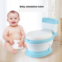 Extra large children's toilet simulation children's toilet baby potty portable baby toilet one generation