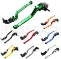 DIY Colors Motorcycle Adjustable Long Brake Clutch Levers For 2007-2016 Kawasaki Z750 Z800 Z 750 800 E version  08 09 12 13 14