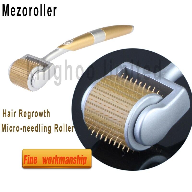 MezoRoller Hair Regrowth Micro-needling Roller Beard Growth
