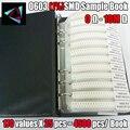 4250 PCS/LOT RC0603 FR-07 0603 1% SMD Resistor Sample Book 0R~10M Tolerance 170 Values 25pcs 4250 pcs Resistors Kit