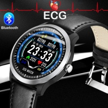 лучшая цена Teamyo N58 ECG PPG Smart Bracelet Smart Watch Heart Rate Monitor Blood Pressure Fitness Tracker Men Smart Watch for IOS Android