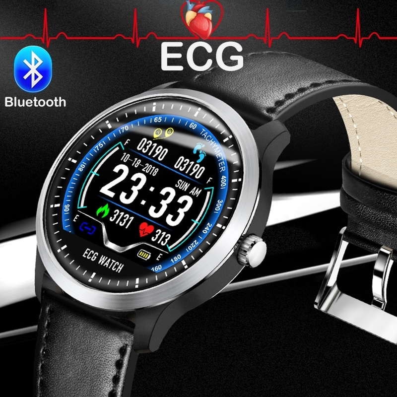 Teamyo N58 ECG PPG Smart Bracelet Smart Watch Heart Rate Monitor Blood Pressure Fitness Tracker Men Smart Watch for IOS Android
