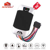 3G GPS Tracker Car Cut Off Oil GPS Locator TK303F Waterproof Vehicle Tracker Fuel Detect Real-time Tracking Device Shock Alarm
