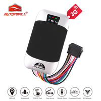 3G GPS Tracker Car Cut Off Oil GPS Locator TK303F Waterproof Vehicle Tracker Fuel Detect Real time Tracking Device Shock Alarm|GPS Trackers| |  -