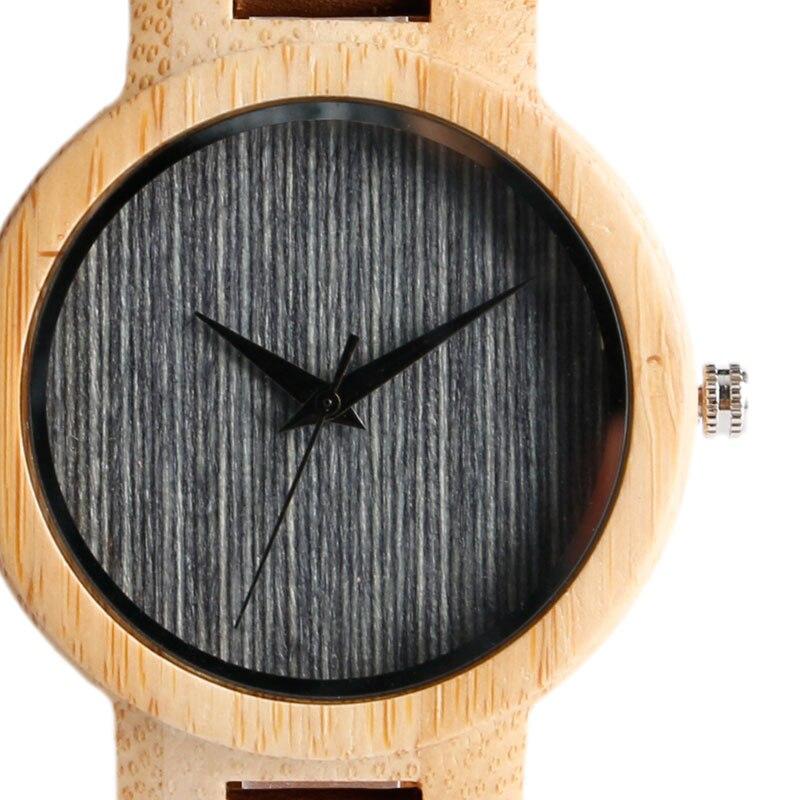 Fashion Cool Gray / Brown Dial Wood Watch meestele, kellel on ehtne - Meeste käekellad - Foto 3