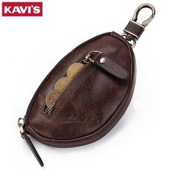 ccc155f14430 Product Offer. Кавис портмоне из натуральной кожи Для мужчин кошелек мини- молния Мягкие бумажники ключа автомобиля сумка ...